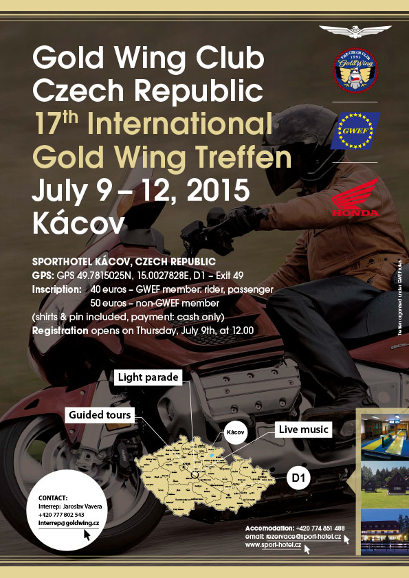 goldwing treffen czech republic 2015